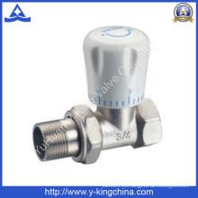 Válvula termostática de radiador de latón de ángulo (YD-3007)