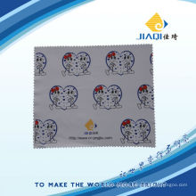 microfiber goggle cloth with four colots printing