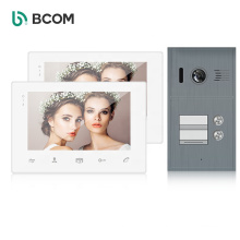 Fancy 2 home intercominucadores 2 station wired video interphone intercom system for apartment building