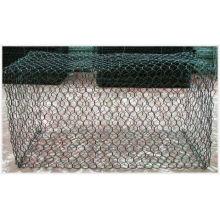 PVC cubrió el acoplamiento hexagonal Gabion del acoplamiento de alambre (anjia-123)