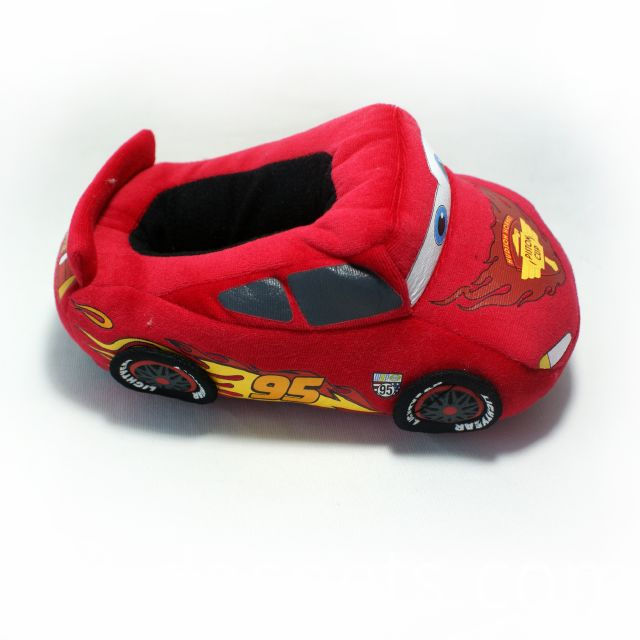 plush car slipper
