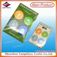 Round insignia barata del emblema de la lata de la impresión con entrega rápida