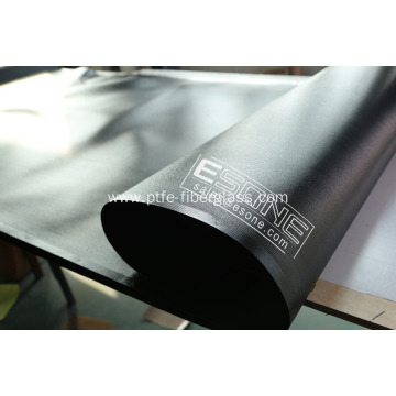 Black color PTFE fabric belt for industry