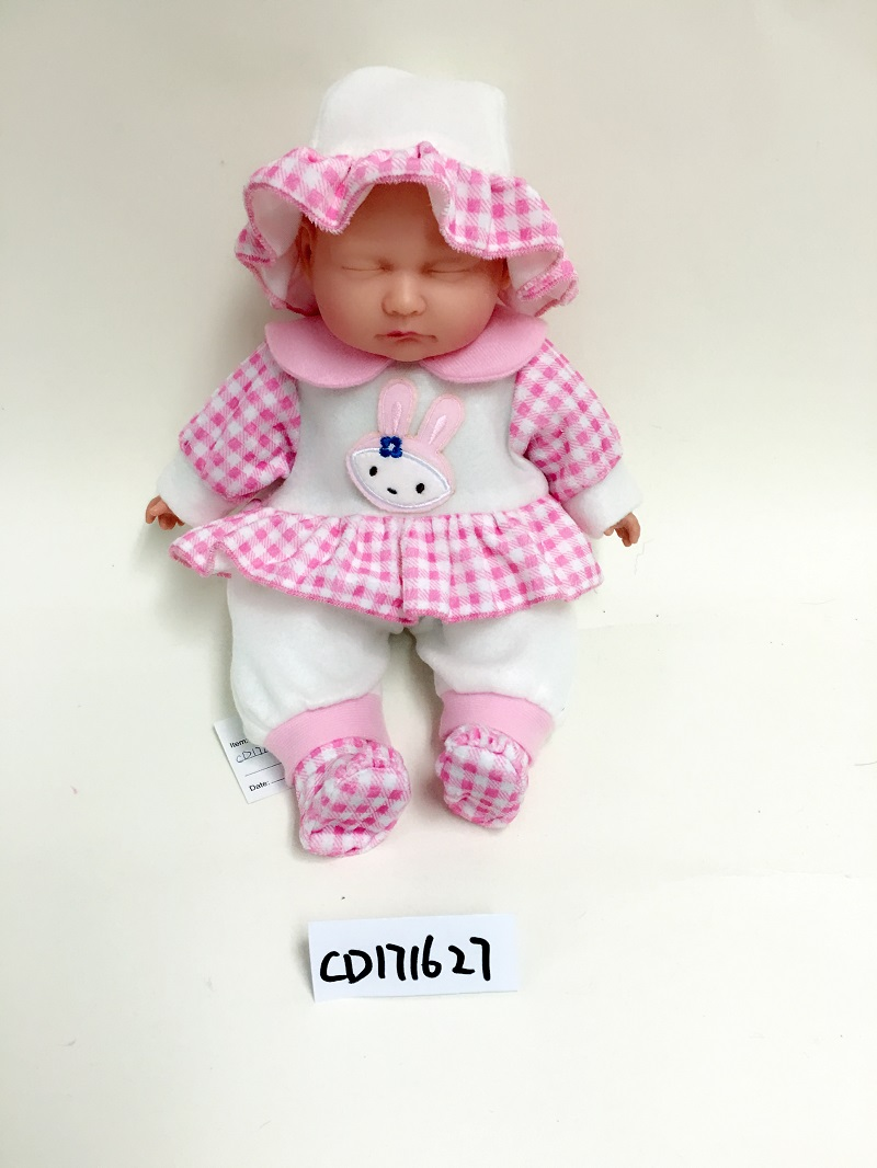 Pink cap baby doll