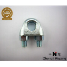 malleable wire rope clip type U.S type are high quality electro-galvanized Wire Rope Accessories