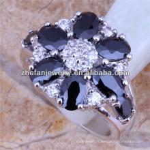 bagues fantaisie bague en diamant noir