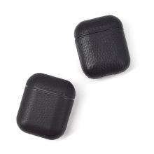 Capa de couro real Cuero para Apple Airpods