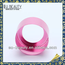 18mm shiny pink color aluminum perfume collar