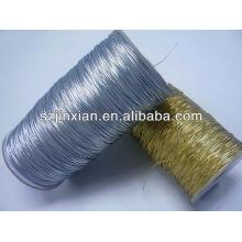 Cordón elástico metálico Gold Sliver