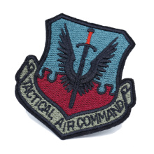 Custom Iron On School Logo Embroidered Patches Embroidery Badge