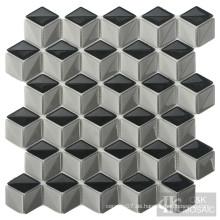 Interessantes Diamond Kitchen Backsplash Glasmosaik