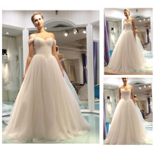 2016 Real Sample Vestidos De Novia Sweetheart V Waist Princess Gowns Detachable Shoulder Crystal Wedding Gown Bridal A137-1