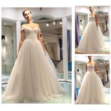 2016 Vestido Real Vestidos De Novia Querida V Cintura Princesa Vestidos Vestido De Casamento De Ombro Destacável De Noiva A137-1