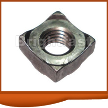 Special Square Nuts zinc plated