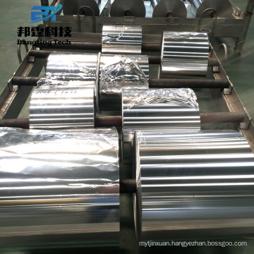 High Quality large roll poly coated aluminium foil 8011-o with Low Price