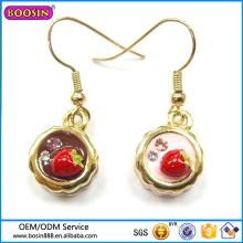 Guangzhou Boosin Crystal Fashion Jewelry Pendiente 3D # 21456