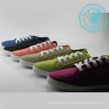 Hommes / Femmes Chaussures Colorées Toile Chaussures Injection Chaussures (SNC-011307)