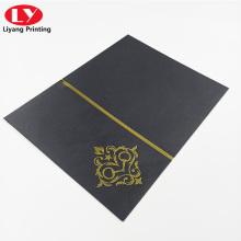 Высококачественный нестандартный элегантный конверт с горячим тиснением