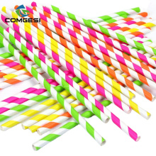 Eco-friendly Bamboo print biodegradable 60mm -197mm straws manufacturer printing with lowest price