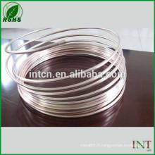 bijoux argent matière métallique wire9999