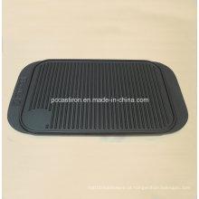 LFGB Certified Griddle panelas de ferro fundido China