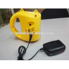 Alta eficiencia con cargador de teléfono solar linterna de camping llevó linterna con linterna