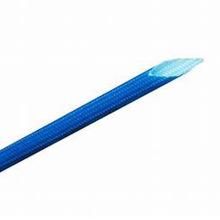 Douille tressée enduite de silicone de haute tension de la fibre de verre 7KV pour isoler