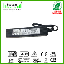 24V 5A LED Light Power Supply with Certificate