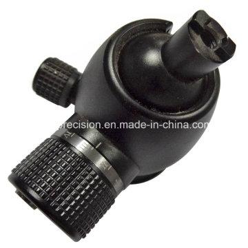 CNC-Bearbeitungs-Kugelkopf für Kamera-Stativ mit Aluminiumanodisieren