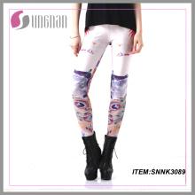 2015taobao Nueva impresión personalizada Leggings mujeres pantalones animales impresos Leggings