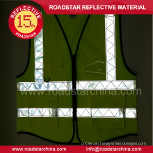 Traffic reflective safety vest