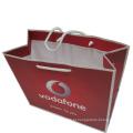 Saco de compras de papel personalizado para embalagem de presente