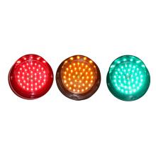 Módulo de semáforo LED de alto brillo de 100 mm