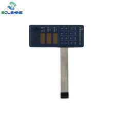 Blue background ZNB-2000 infusion pump membrane switch