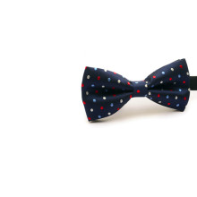 Wholesale handmade cheap dot polyester necktie