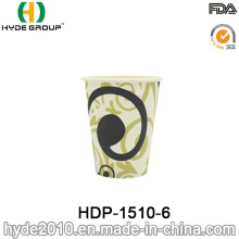 12oz Single Wall Disposable Coffee Paper Cup (HDP-1510-6)