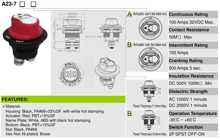 Auto Battery Switch
