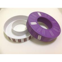 Кольцевой ящик с кольцевым ящиком и круглый ящик для бумаги