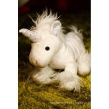 Lindo popular peluche peluche juguete unicornio juguete suave peluche de juguete de peluche de juguete de juguete de tela