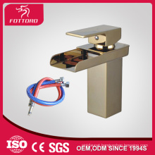 Square design goden beauty basin faucet MK23602