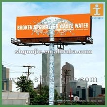 Outdoor advertising digital printing billboard for promotion