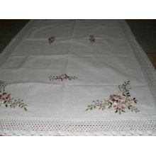 DPF 100% Cotton Embroidered Table Cloth