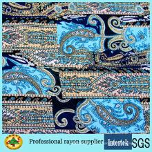 Женское платье с принтом на заказ, пряжа из вискозной ткани