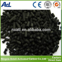 Столбчатый активированный уголь для адсорбции качания давления