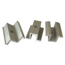 Sistema de montagem solar de alumínio com braçadeira de extremidade com 30 mm de espessura