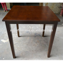Simple square design restaurant table XYN175