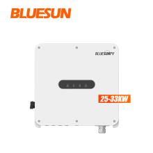BLUESUNPV 25kw 30kw 33kw Solar Inverter On Grid Solar Inverter 25kva 30kva 33kva On-Grid Solar Inverter