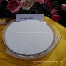 Top sale high quality Ethylene method white powder virgin pvc resin s65 iran