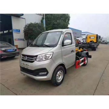 Changan 3 cubic hook arm garbage truck