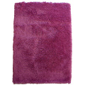 100% Polyester Microfiber Shaggy Rug Plain Colour